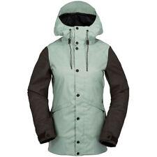 Équipements de neige verts Volcom pour les sports d'hiver