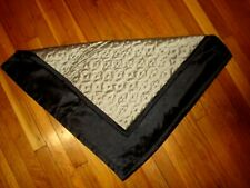 2 Home Expressions JCPenney EURO SHAM Reversible quilted GOLD & BLACK