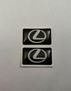 LEXUS 3D DOMED BADGE LOGO EMBLEM STICKER GRAPHIC DECAL IS ES RX CT RC LS NX LC .