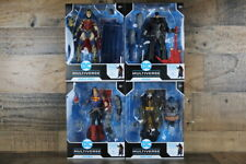 DC Death Metal Set of 4 SUPERMAN, ROBIN KING, WONDER WOMAN, BATMAN BAF BATMAN