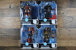 DC Multiverse Dark Nights: Death Metal Set of 4 BAF Darkfather McFarlane Toys