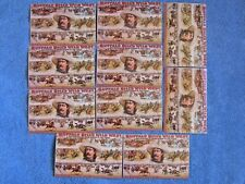 Vintage Postcards Buffalo Bill's Wild West & Congress Of Rough Riders. Lot Of 15