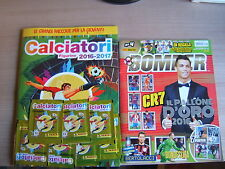 Rivista BOMBER=N°4 1/2017= con album calciatori panini 2016/17+7 bustine sigill.