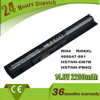 RI04 Battery for HP ProBook 450 455 470 G3 series 805294-001 805047-851