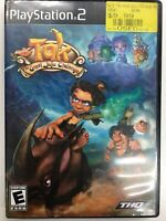 Tak: The Great Juju Challenge (Sony PlayStation 2, 2005) Complete With Manual