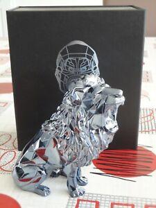 Roaring Lion Spirit - Petrol Edition - Richard Orlinski - Edition Limitée - Neuf