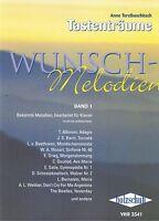 Klavier Noten : Wunschmelodien 1 (Tastenträume) leicht - mittel Terzibaschitsch