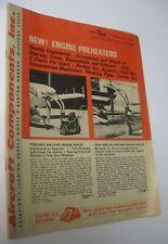 Vintage 1969 Aircraft Components Aviation Parts Catalog Benton Harbor Michigan