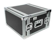 "XSPRO XS6U-14 6 Space 6U ATA Effects Rack Flight Tour Case 19"" Wide 14"" Deep"