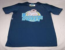 Family Guy Peter Freakin Sweet Mens Dark Blue Printed T Shirt Size S New