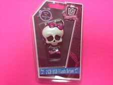 MONSTER HIGH 2 GB USD STORAGEFLASH DRIVE MODEL 18048 PLUG AND PLAY PACKAGED