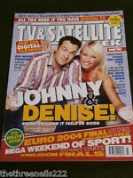 TV & SATELLITE WEEK - JOHNNY VAUGHAN & DENISE VAN OUTEN - JULY 3 2004