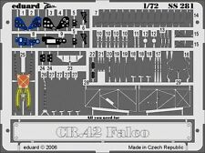 Eduard Zoom SS281 1/72 Fiat CR.42 Italeri