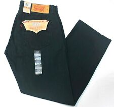 Men Levi's 501 Straight Leg Carbon Ink/Green Light Weight Button Fly Jeans- 2478