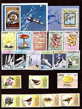 Iles de mer des ANTILLES : conquete de l'espace,oiseaux,champignons  H249
