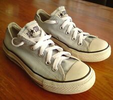SKY BLUE CONVERSE ALL STAR TRAINERS SIZE 3 EUR 35