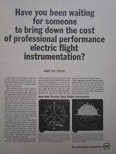 6/1967 PUB AIRCRAFT RADIO CORP ELECTRIC GYRO FLIGHT INSTRUMENTS ORIGINAL AD