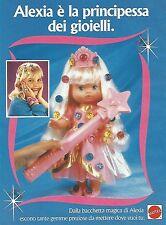 X0357 Bacchetta Magica di Alexia - Mattel - Pubblicità del 1993 - Vintage advert
