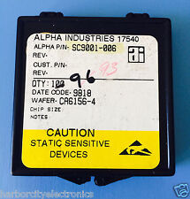 Sc9001 006 Alpha Industries Capacitor Chip Rf Microwave Product 93units Total