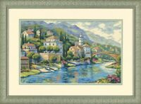 Sealed Modern Cross Stitch Embroidery Kit Dimensions 35246-DMS Italian Vista