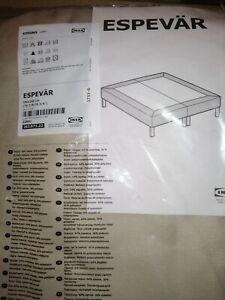 IKEA ESPEVÄR Bezug für Boxspring Gestell 180x200 beige 203.071.22 NEU OVP