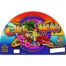 IGT I Game Plus RT 17 Top Glass, Catch A Wave (839-172-00)  (Free Shipping