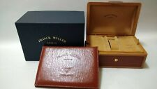 Genuine Franck Muller CONQUISTADOR LEATHER WATCH BOX Case/0803300003