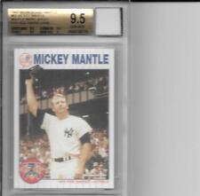 1997 Scoreboard #66 Mickey Mantle YANKEES WORN JERSEY BGS 9.5