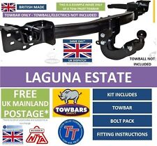 Towbar to fit Renault Laguna MK1 Estate 1994 to 2001 5 &7 Seats Tow-Trust TR813