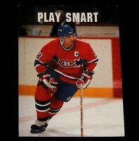 Vintage Hockey Card, NHL, PRO-SET, 1991, MONTREAL CANADIANS, Guy Carbonneau,#345