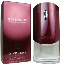 GIVENCHY pour HOMME Cologne 3.4 oz / 3.3 oz New in Box