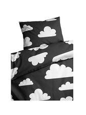 Farg Form Scandinavian Swedish baby toddler Cot Crib Cloud Bedding -Monochrome