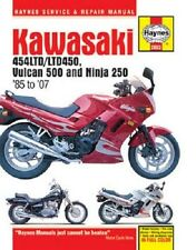 HAYNES SERVICE MANUAL KAWASAKI 454LTD 1985-1990 & 450LTD 1985-1990 1986 1987