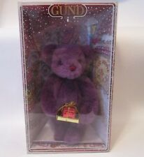 "Christmas 1993 Gund Collector's teddy Bear 8 1/2"" tall"