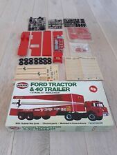 Ford Tractor & 40 Trailer Ferrari Decals by Airfix Retro scale 1/32 Model Kit