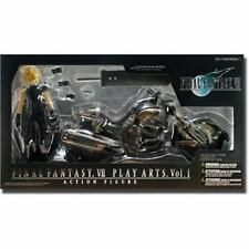 Final Fantasy VII Cloud Strife & Hardy Daytona Action Figure Deluxe Set F/S NEW