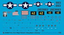 Peddinghaus 2468 1/32 p 38 j-15-lo major Richard I bong pacifik