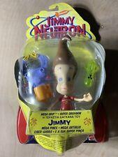 Mattel Nickelodeon Jimmy Neutron Boy Genius Action Figure 2001 A5