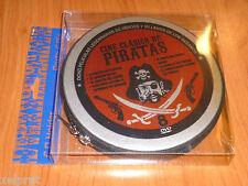 CINE CLASICO DE PIRATAS - 8 peliculas, 8 dvd - NUEVA