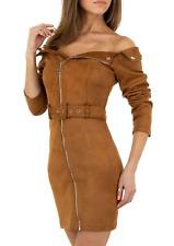 Robes avec ceinture : camel