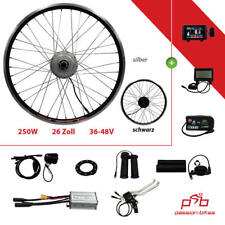 "e-Bike/Pedelec Kit di Conversione 250 Watt Anteriore Motore 26 "" ~ KT3 Display ~"