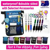 Nurses Pouch Waist Bag Extra Pocket QUICK PICK BAG Syringe Keyring Pen ID Holder