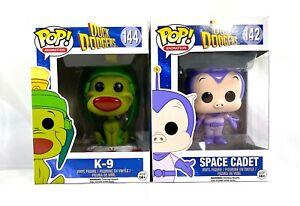 Duck Dodgers - K-9  Funko #144 & Space Cadet #142 Funko Pop Animation Lot of 2