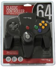 OFFICIAL RETROLINK BRAND NINTENDO 64 USB CONTROLLER FOR PC AND MAC  *USA SELLER*