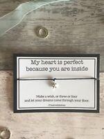 Anniversary Wish Bracelet Gift for Wife, Fiancee, Fiance, Husband, Keepsake Card