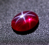 10x12mm Unheated Oval Pigeon Blood Red Star Ruby AAAAA+ Top Quality LOOSE GEMS