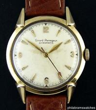 Girard Perregaux Gyromatic Vintage 10k Yellow Gold Filled Automatic