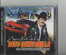 BETO QUINTANILLA LE COMPRE LA MUERTE A MI HIJO REGIONAL MEXICANO