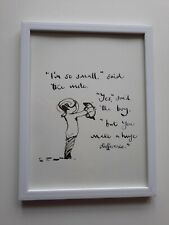 CHARLIE MACKESY FRAMED BOOK EXTRACT. 'THE BOY, THE MOLE, THE FOX AND THE HORSE.'