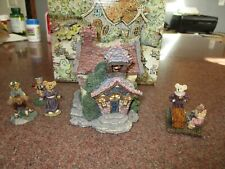 Boyds Bearly-Built Villages 2000 Boyd'S Bearly A School19004 & Accessories